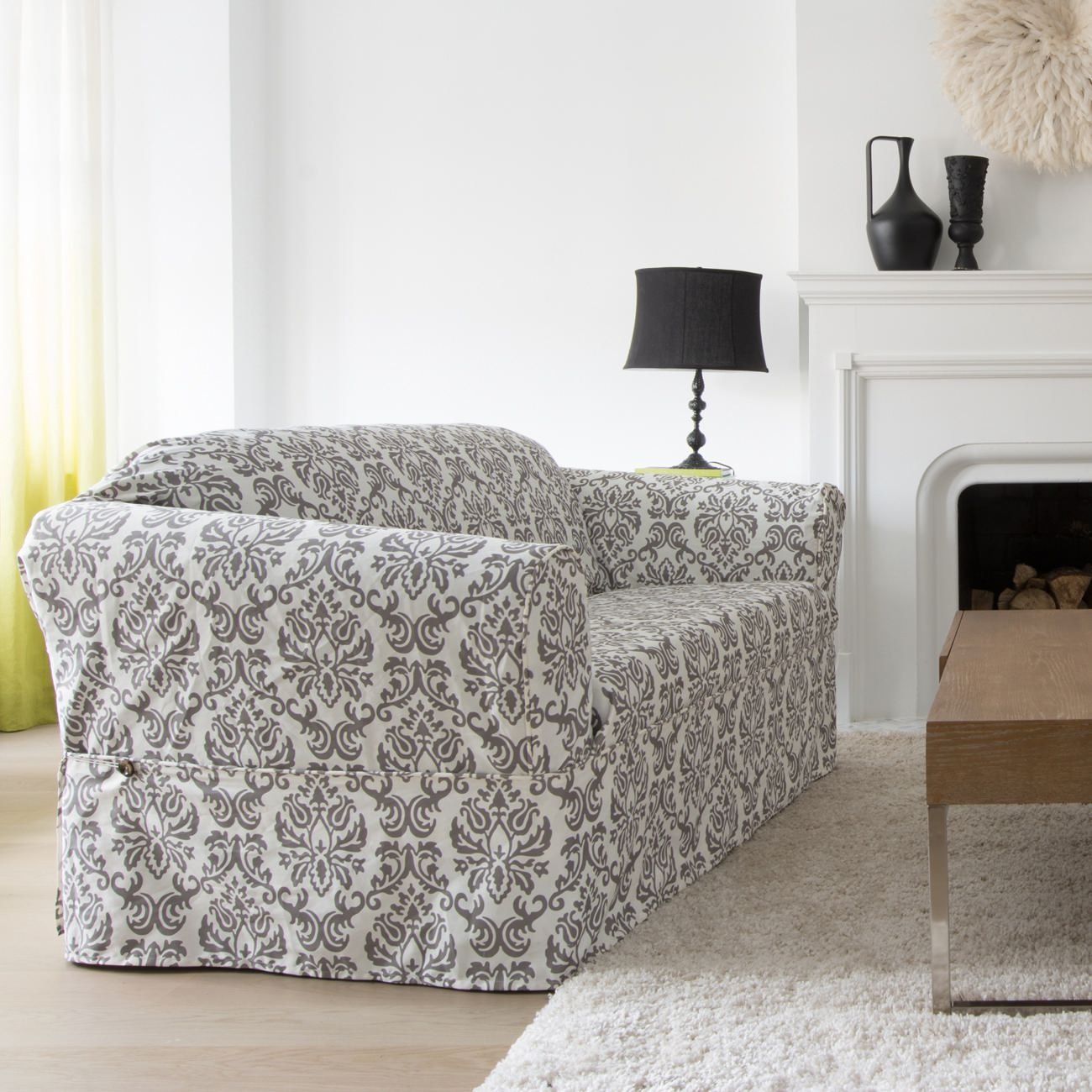 Sure Fit Chelsea Relaxed Fit Sofa Slipcover