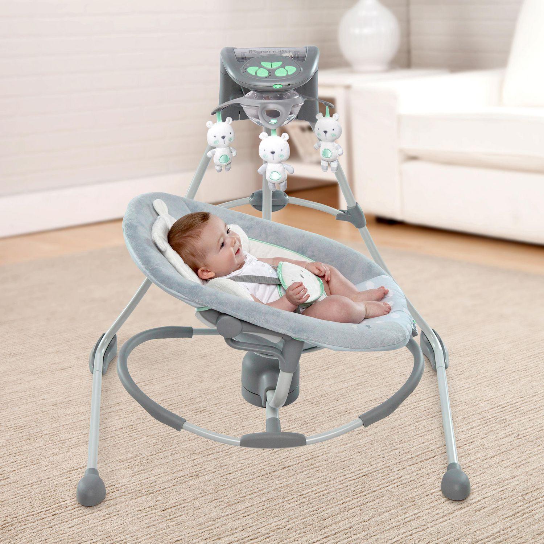 Ingenuity™ InLighten Cradling Swing & Rocker™ – Twinkle Twinkle