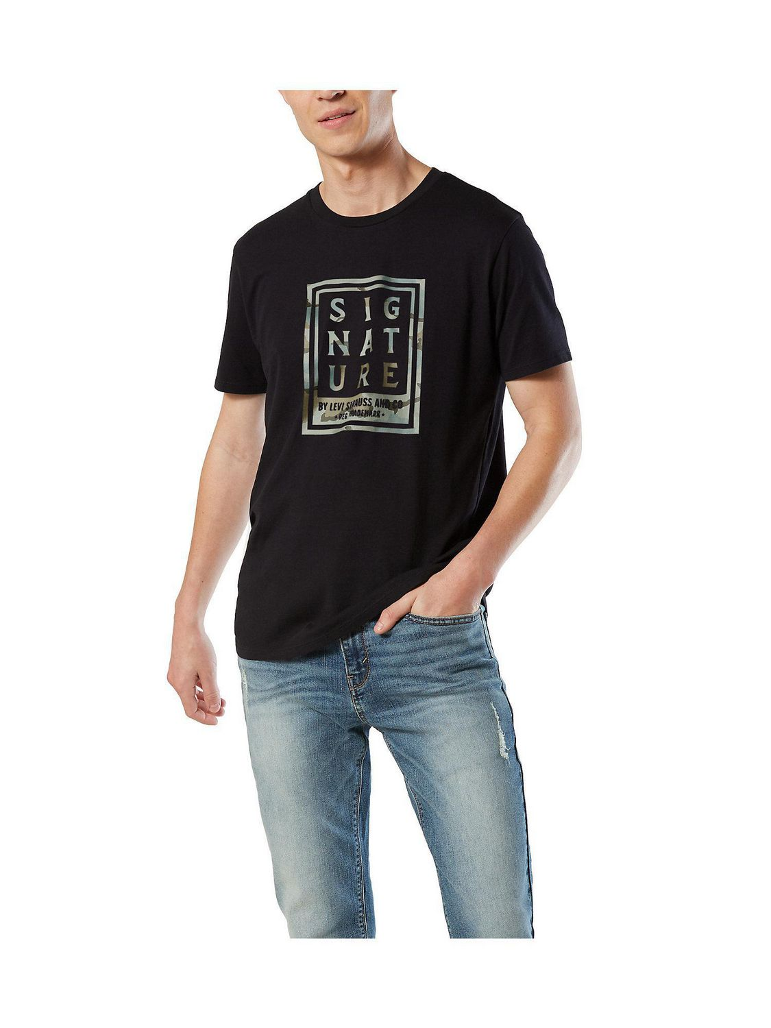 Signature by Levi Strauss & Co.™ Men's Short Sleeve Tee ...