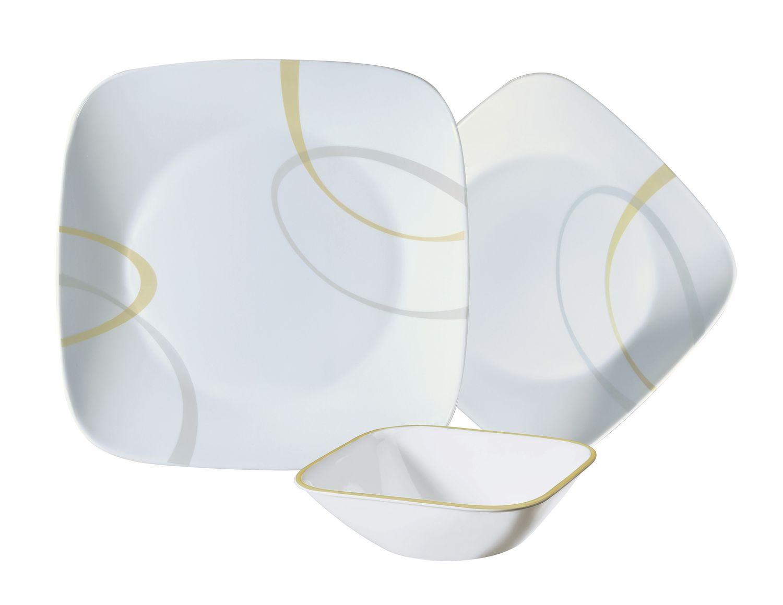sc 1 st  Walmart Canada & Corelle® Square™ 12-Piece Dinnerware Set | Walmart Canada