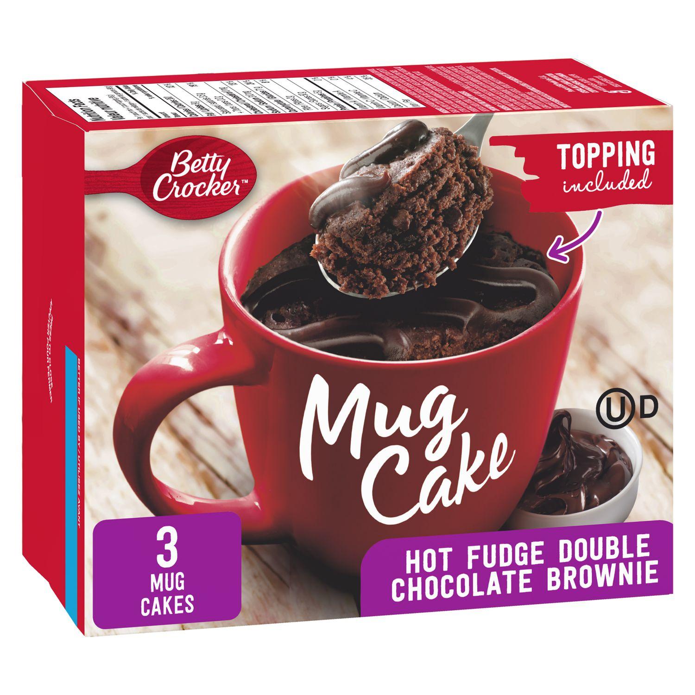 Betty Crocker Mug Cake Hot Fudge Double Chocolate Brownie With Fudge Topping Walmart Canada