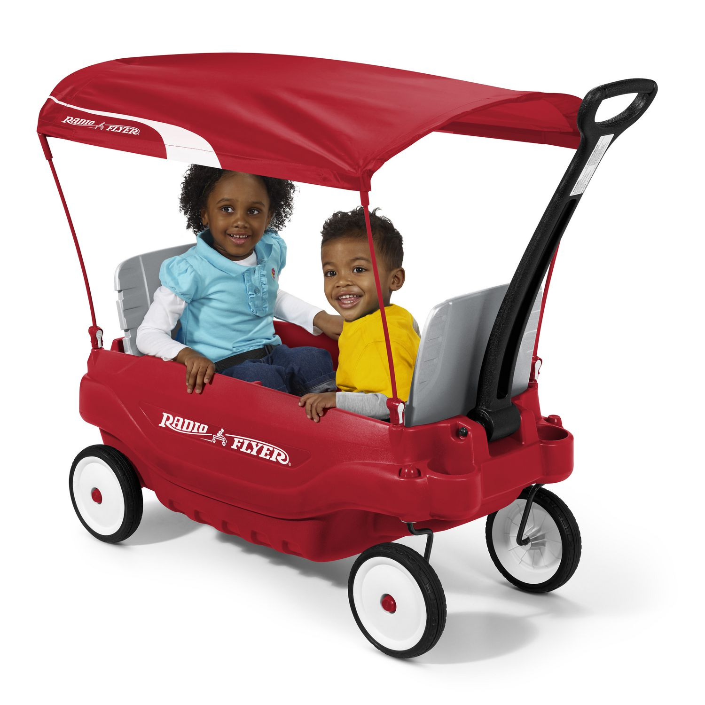 Radio Flyer Deluxe Family Wagon