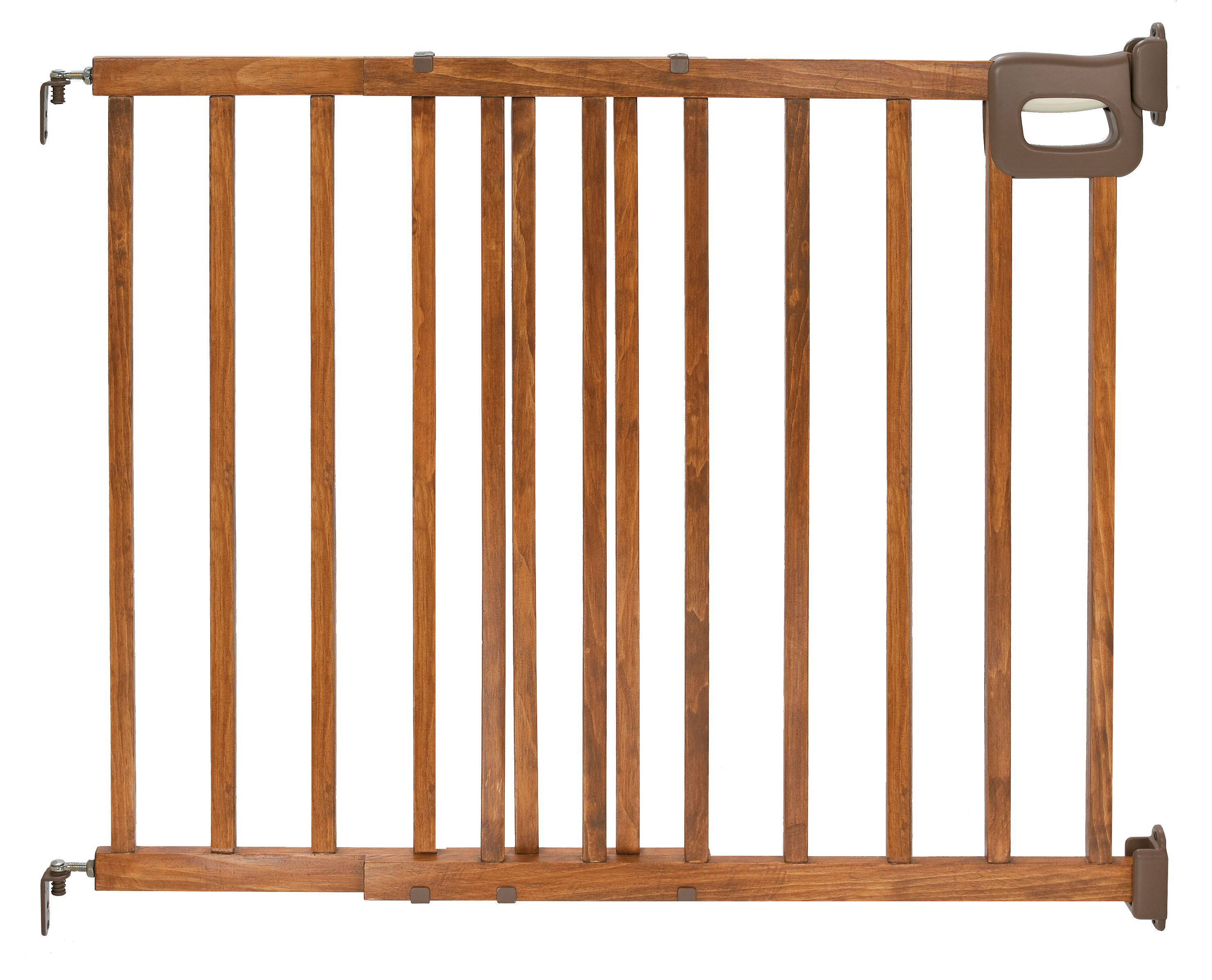 Summer Infant Stylish Amp Secure Deluxe Wood Stairway Gate