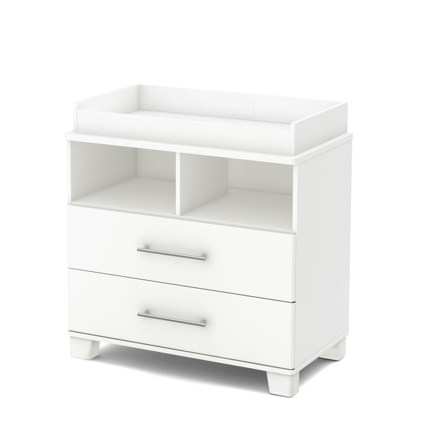 products view drawer grey children dresser emerson changing with angle delta angled w table top