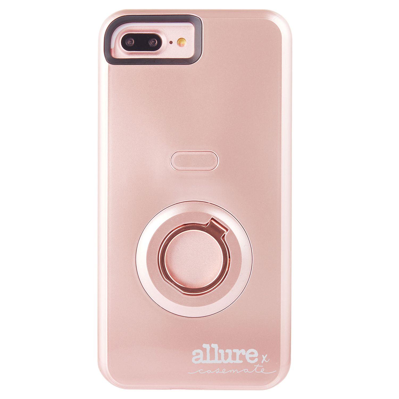 check out d5f25 50525 Case-Mate Allure Selfie Case iPhone 7 Plus Rose Gold