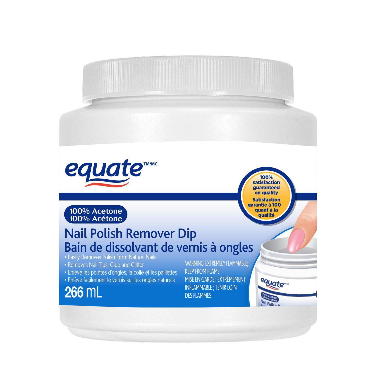Equate 100% Acetone Nail Polish Remover | Walmart Canada