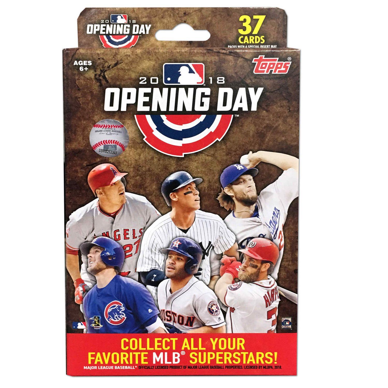 18 Topps Opening Day Baseball Hanger Box Trading Cards Walmart Canada