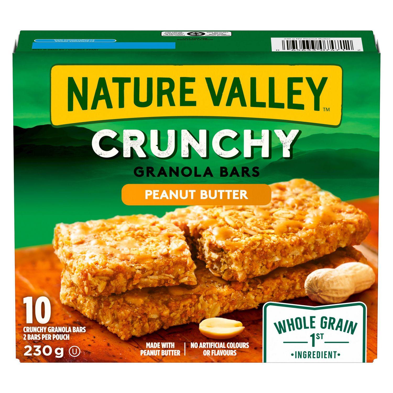 barres croquantes au beurre d'arachide de val naturemc | walmart canada