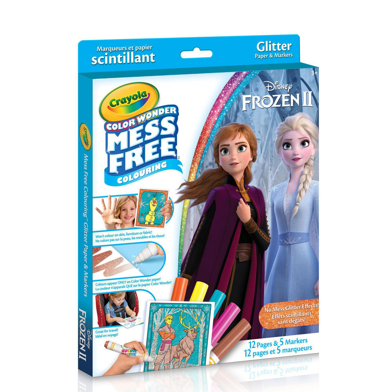 Crayola Color Wonder Glitter Paper Kit - Disney Frozen | Walmart Canada