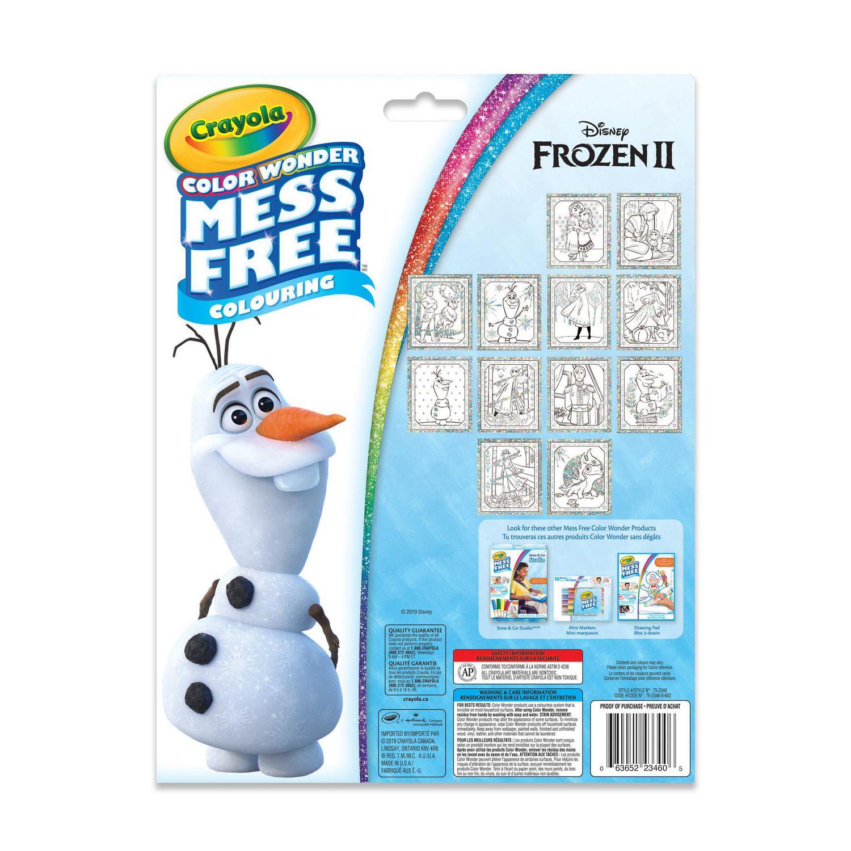 Crayola Color Wonder Glitter Paper Kit - Disney Frozen | Walmart Canada