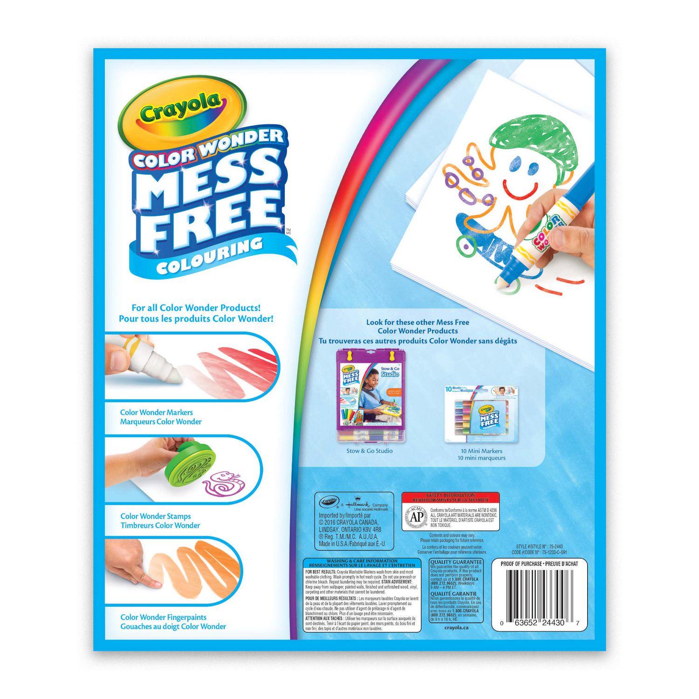 Crayola Color Wonder Mess Free Colouring Drawing Pad | Walmart Canada