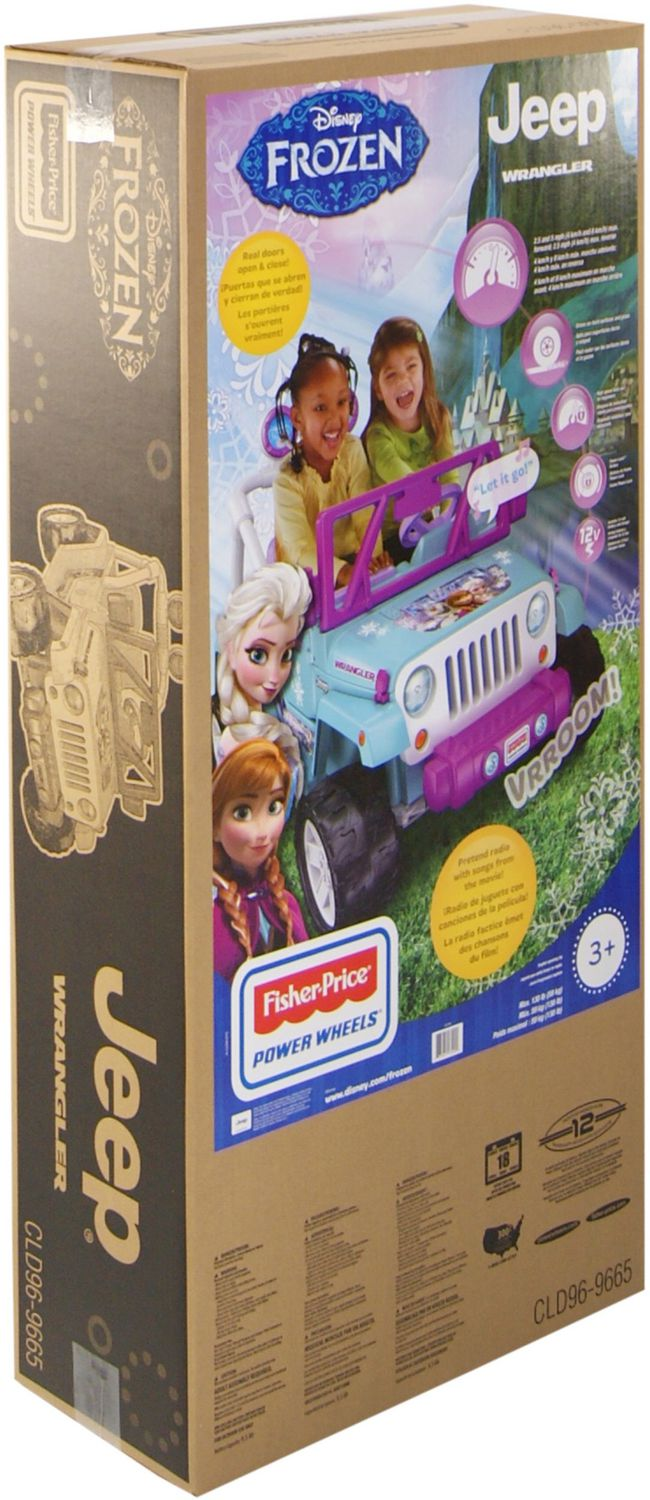 Fisher-Price Disney Frozen Wrangler Jeep | Walmart Canada