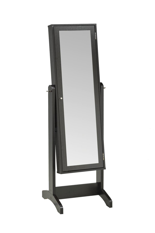 Brassex Inc Brassex Jewelry Cabinet with Mirror | Walmart ...