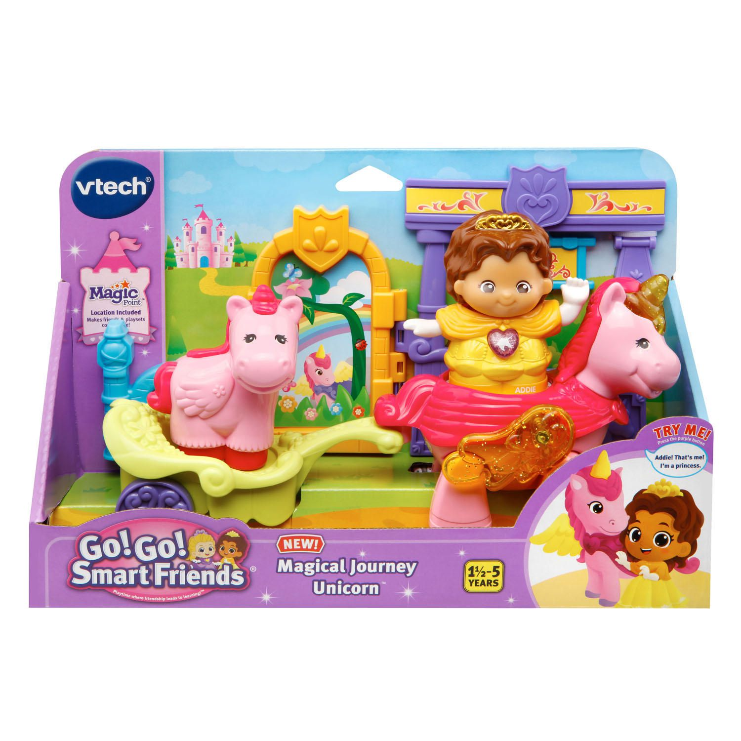 Vtech Go Go Smart Friends Magical Journey Unicorn Playset