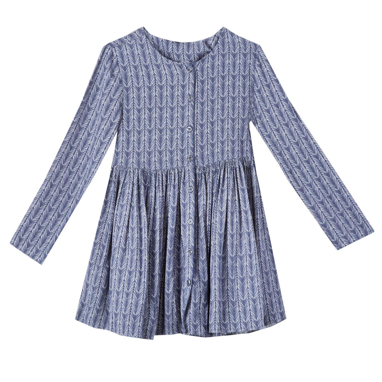 George Girls Button Down Print Dresses Walmart Canada