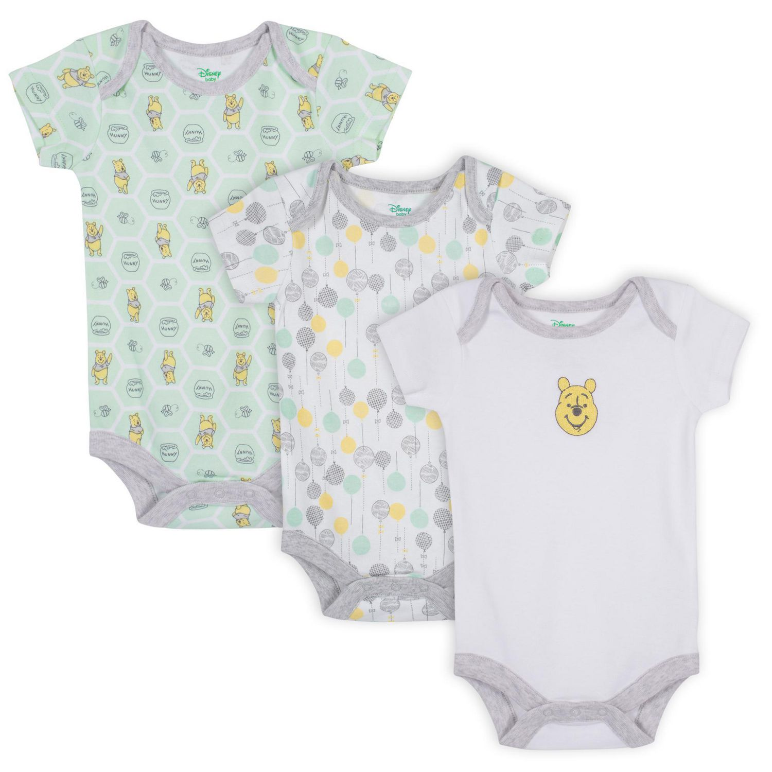 3-Pack Care Unisex Baby Bodysuit Sleeveless Exclusive