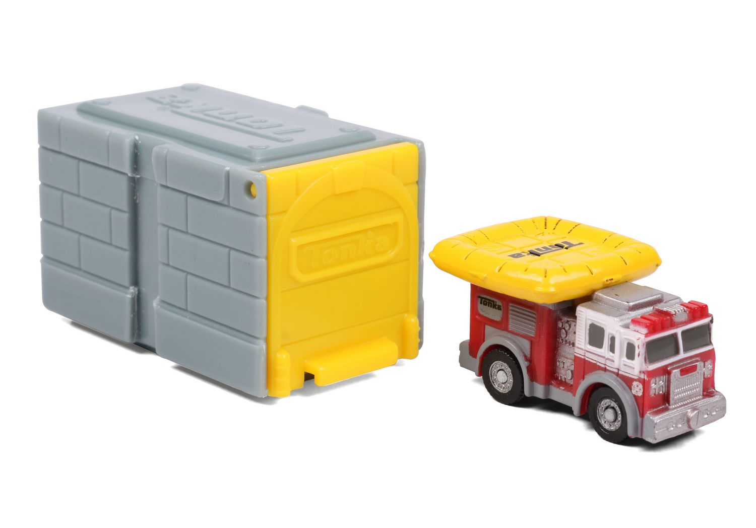 Vehicle Inside Tonka Tinys Rescue 3 Pack With Exclusive Mystery