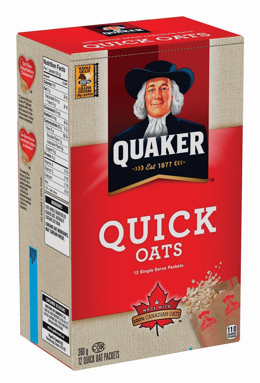 Quaker Oats Quaker Old Fashioned Oatmeal Canada