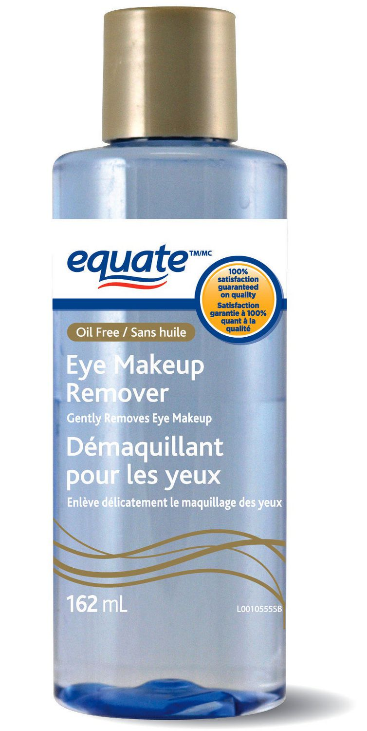 Equate Oil Free Eye Makeup Remover Walmart Canada