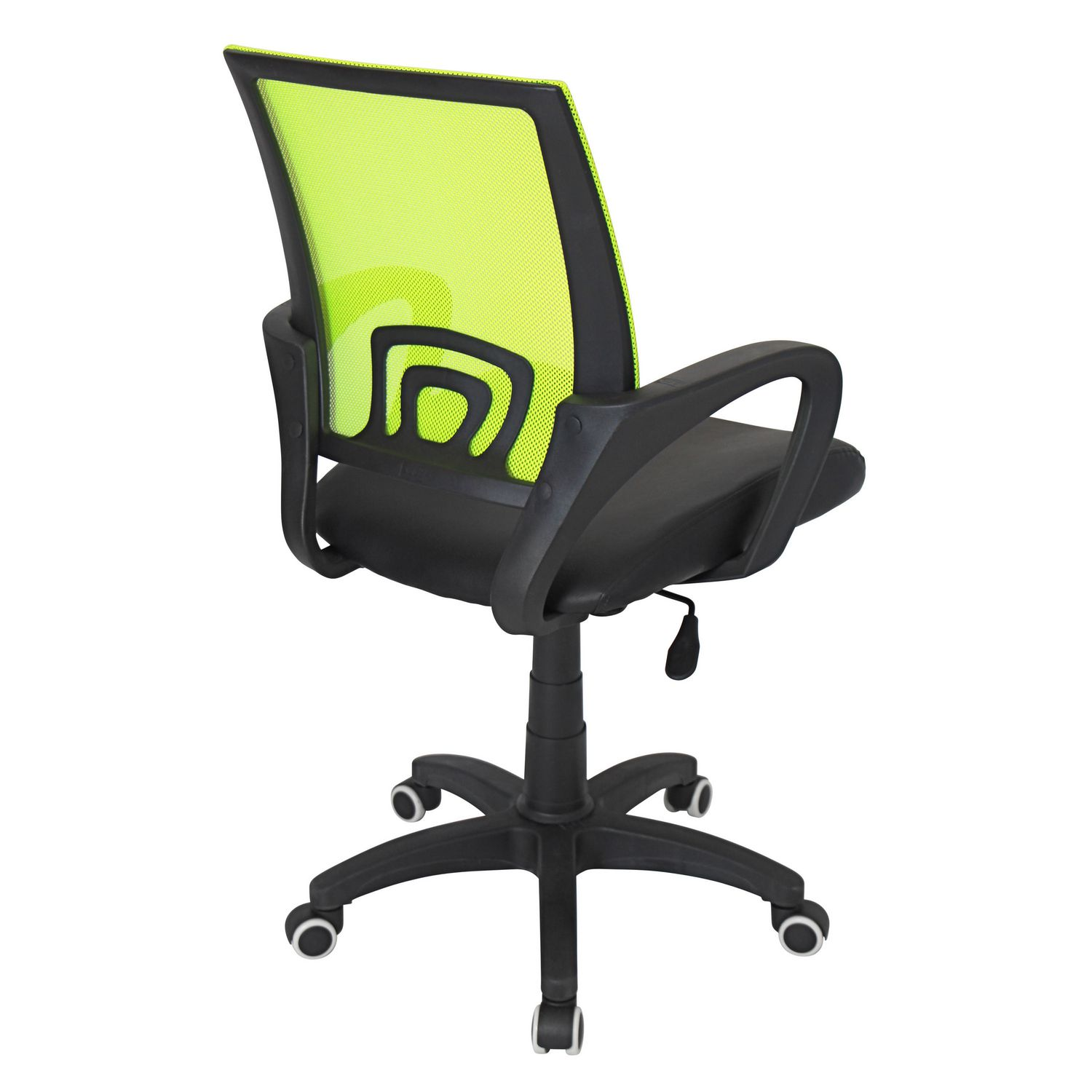 lumisource officer lime green office chair walmart canada