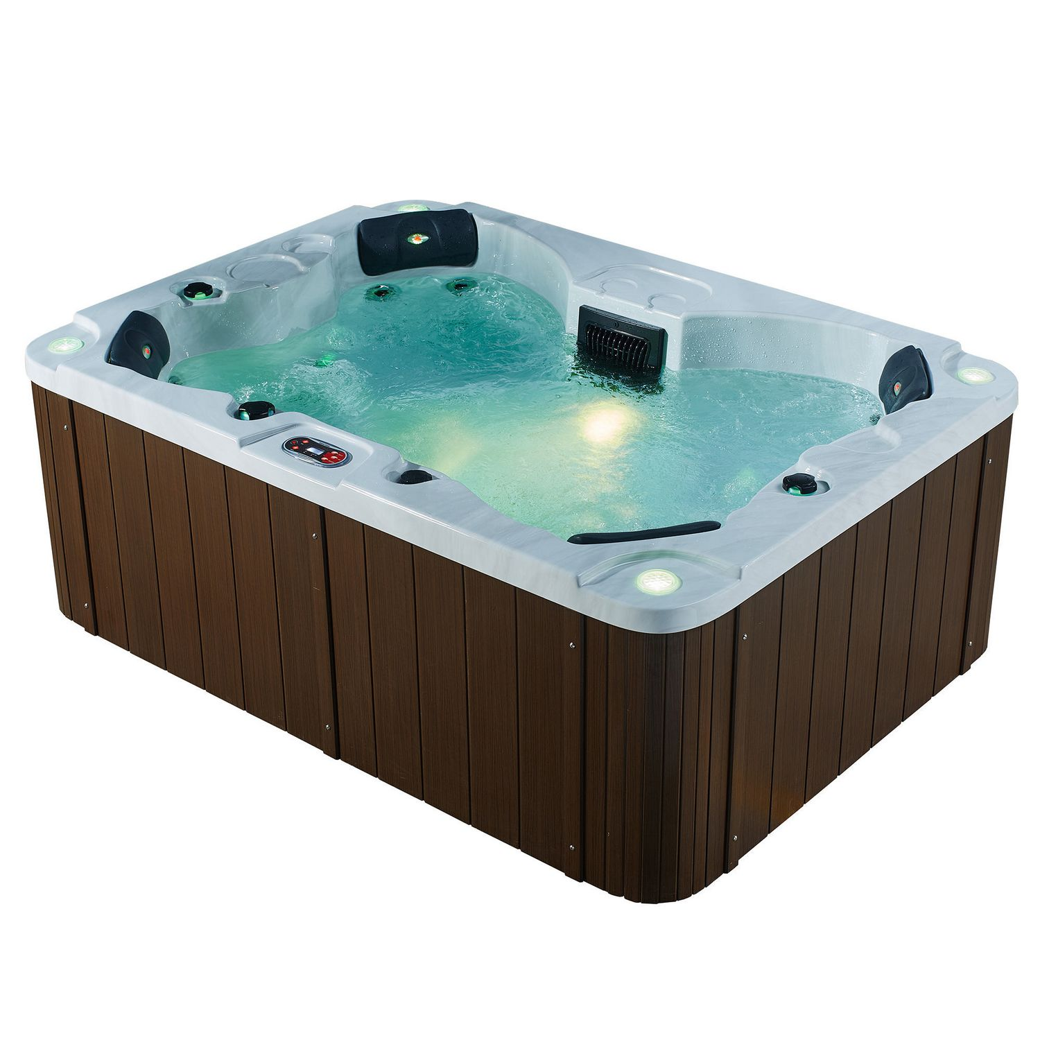 and product spa plugin oval tub play hottub portable jacuzzi person two tubs hot jet