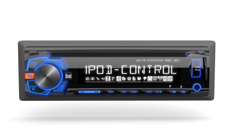 Dual Xdma460 Am Fm Mp3 Wma Cd Receiver With Full Ipod Control Walmart Canada