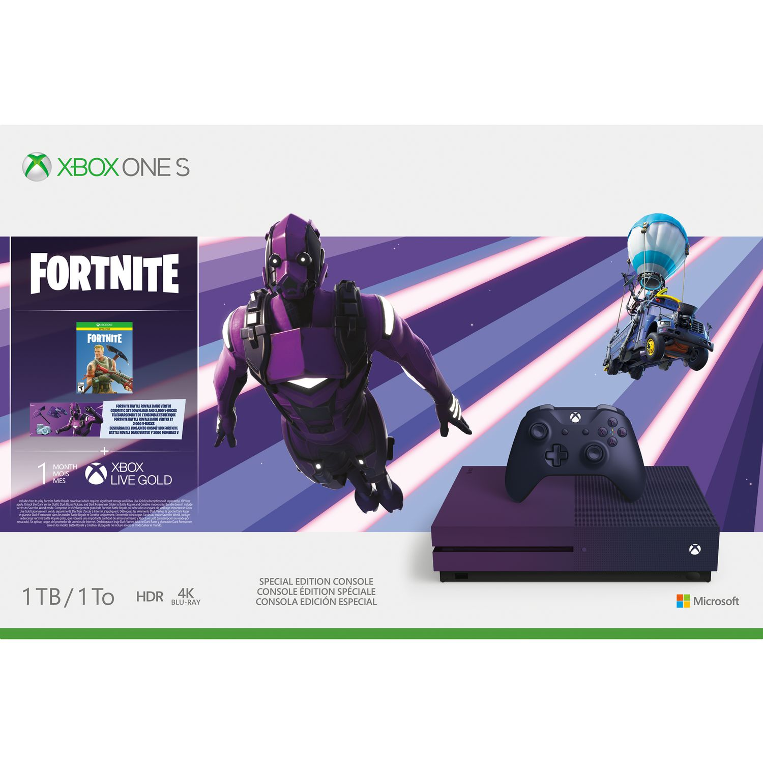 Best Buy Xbox One Fortnite Xbox One S 1tb Console Fortnite Battle Royale Special Edition Bundle Walmart Canada