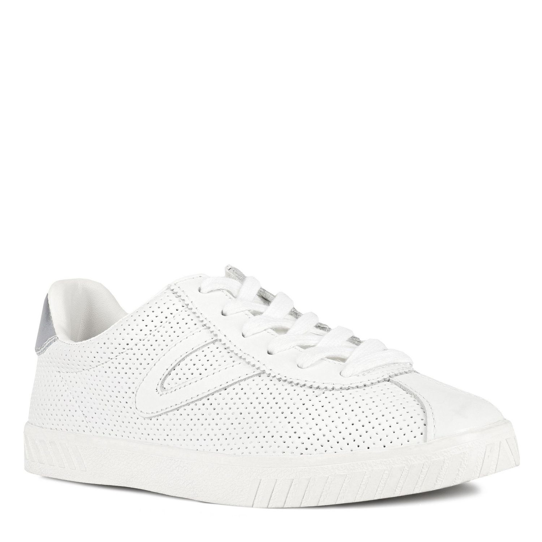 Silver Ankle-High Fashion Sneaker - 6.5