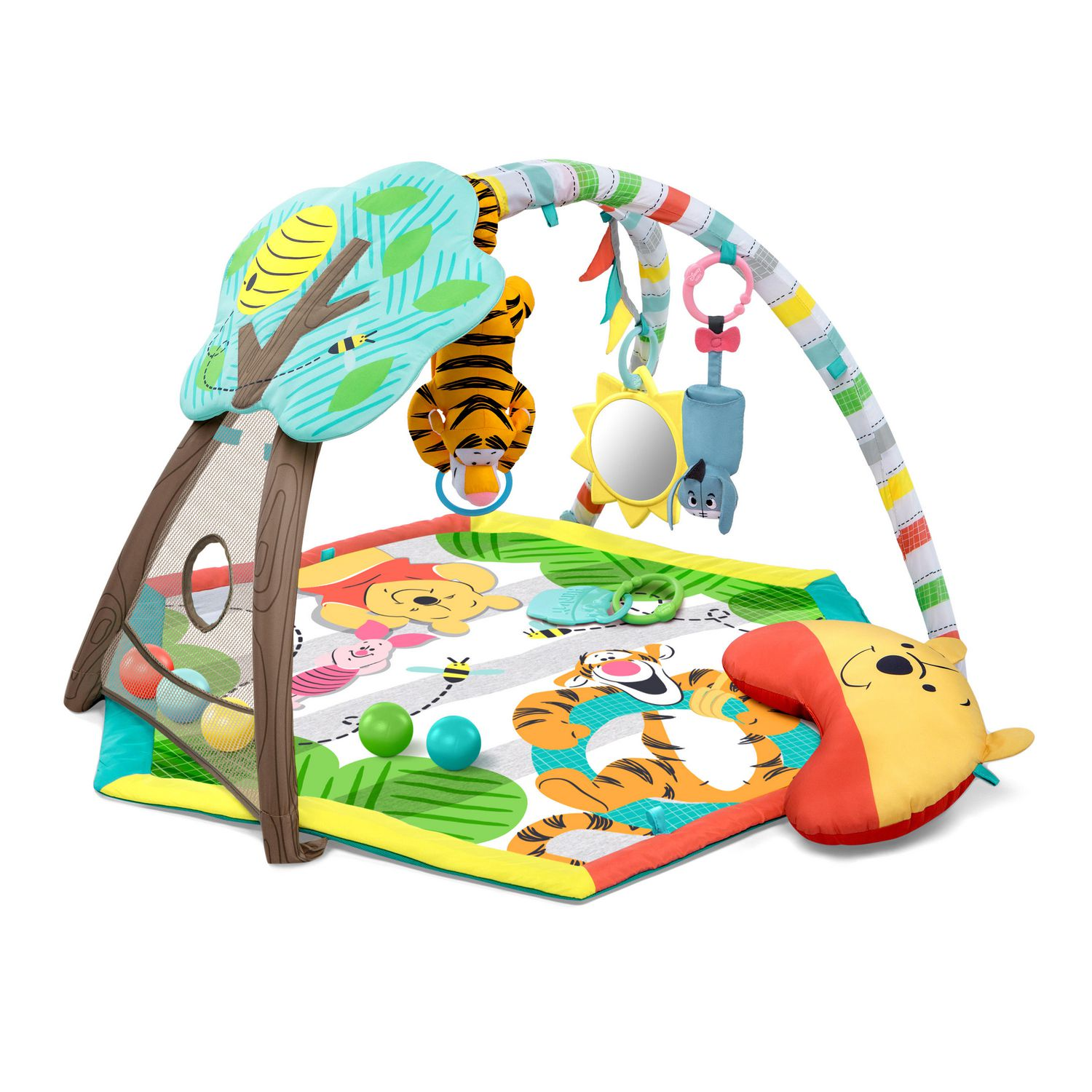 Activity & Gear Cartoon Fox Cotton Baby Kids Gym Play Mat Crawling Blanket Portable Round Carpet Children Toys Playmat Storage Bag 150cm Mother & Kids