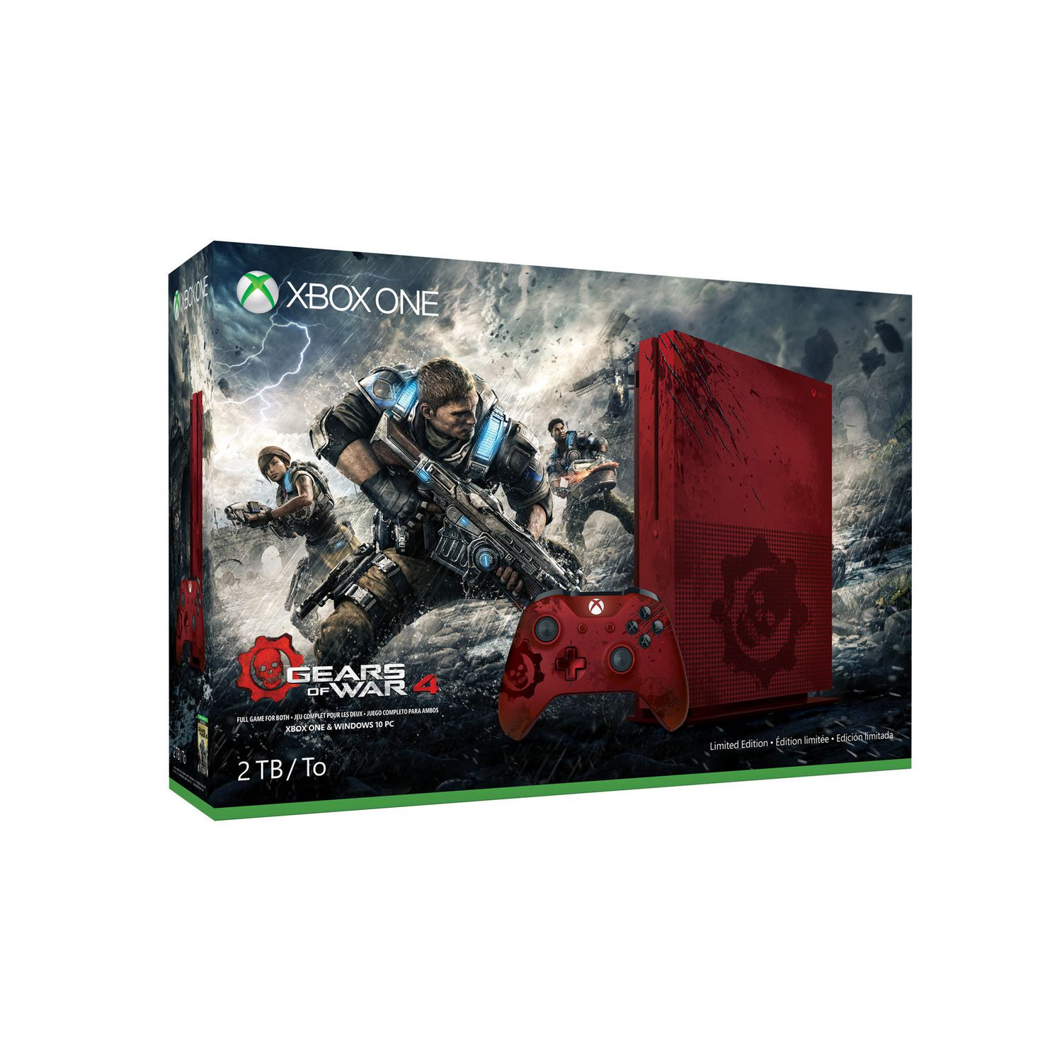 Game boy color quanto custa - Xbox One S 2tb Gears Of War 4 Limited Edition Bundle