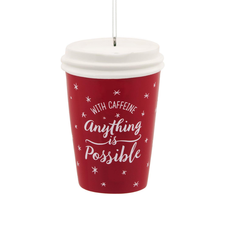 Coffee Christmas Ornament.Hallmark Coffee Cup Christmas Ornament Walmart Canada