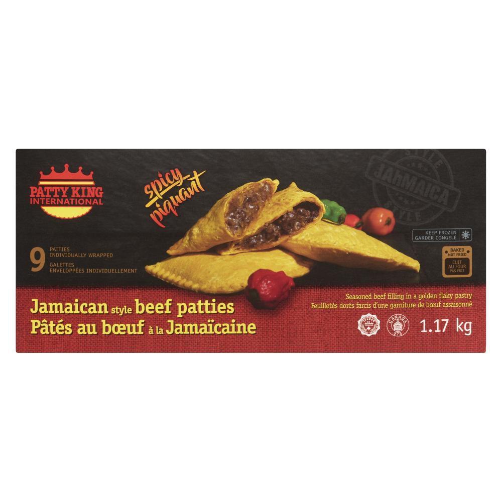 patty king international jamaican style patties  spicy