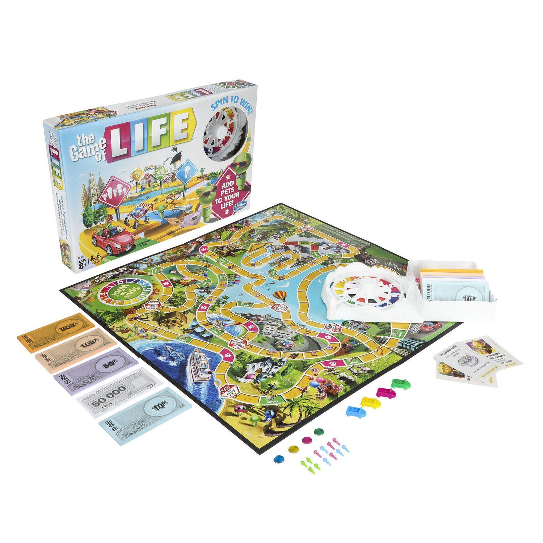 Hasbro Gaming The Game Of Life Game Walmart Canada
