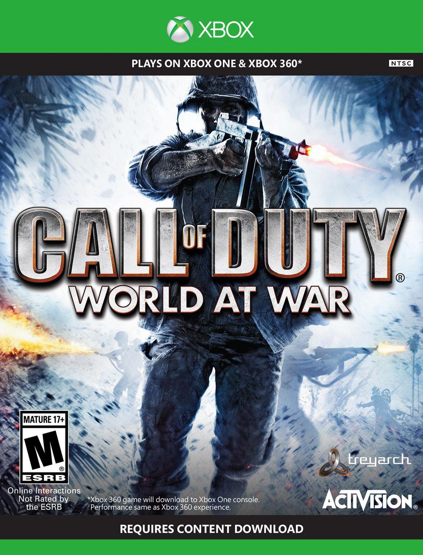 Call Of Duty World At War Xbox One 360 Walmart Canada