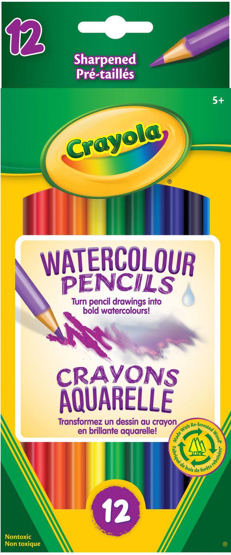 crayola sharpened watercolour pencils walmart canada