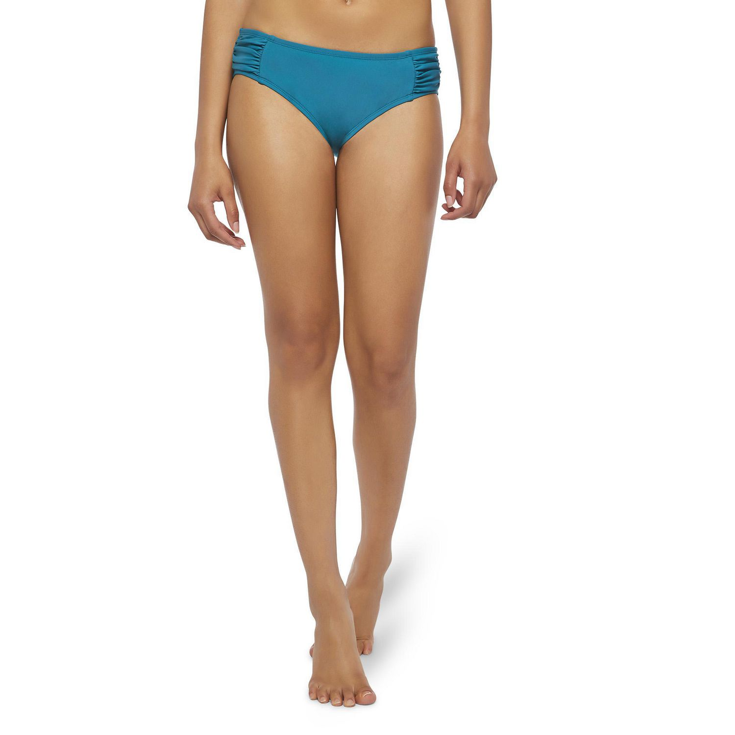 e00c3267a5e George Women's Scrunch Side Panel Bikini Bottoms - image 1 of 6 zoomed image