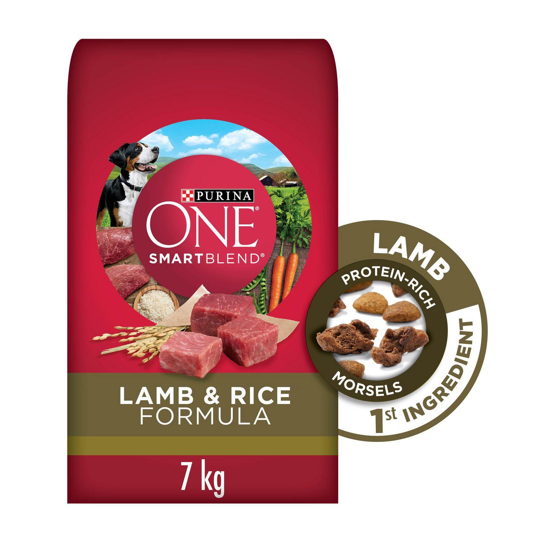 Purina One Smartblend Natural Dry Dog Food Lamb Rice