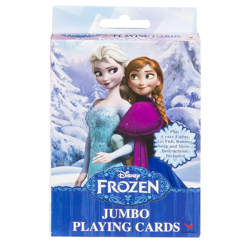 Cardinal Games Disney Frozen Jumbo Playing Card Deck