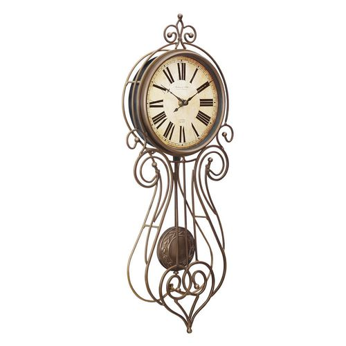 Wrought Iron Regulator Wall Clock Walmart Canada