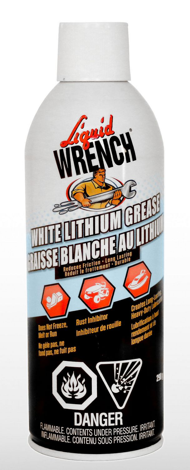 Liquid Wrench White Lithium Grease Lubricant