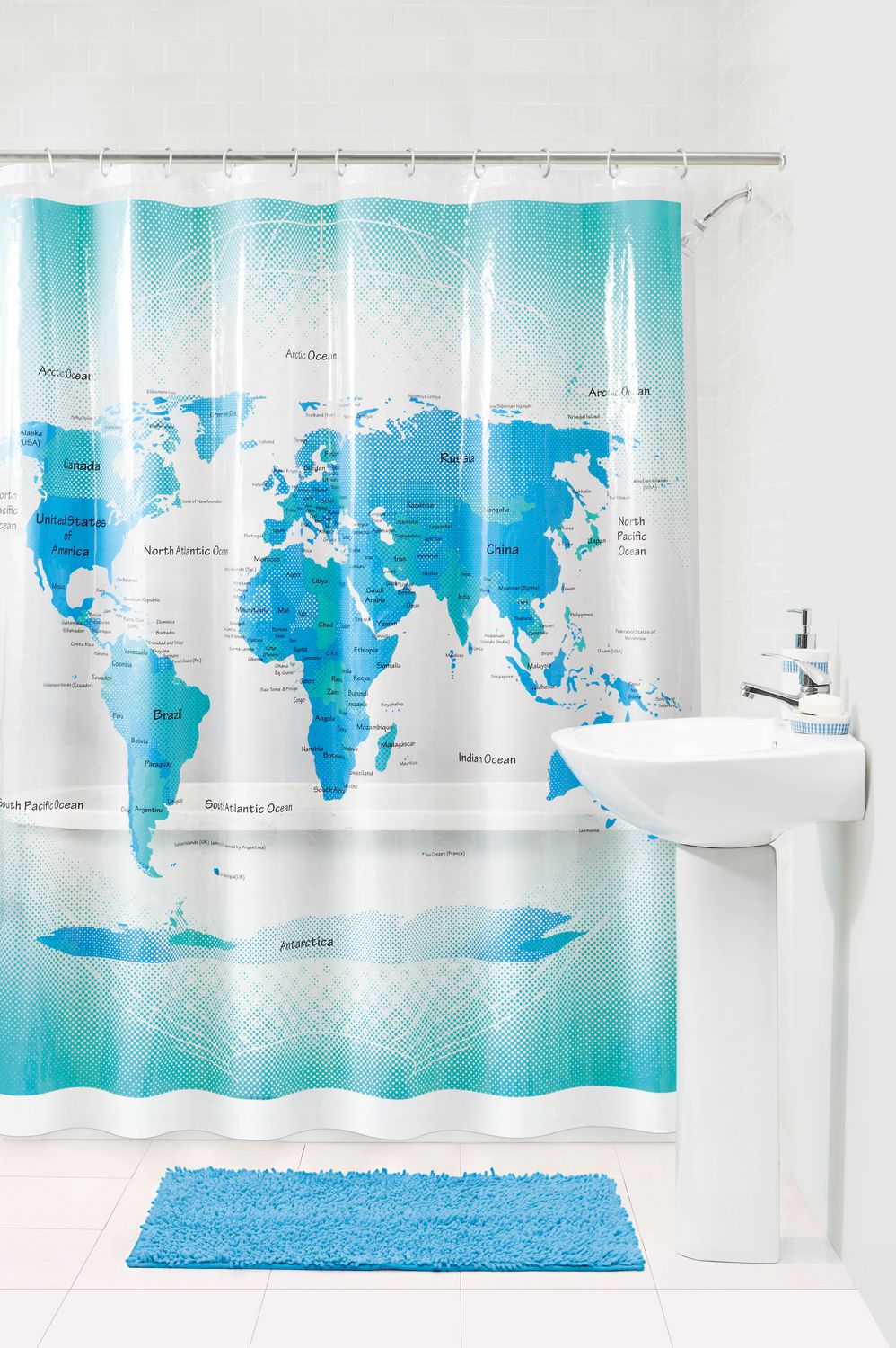 100 map shower curtains shower ynjhbmqz amazing fabric show