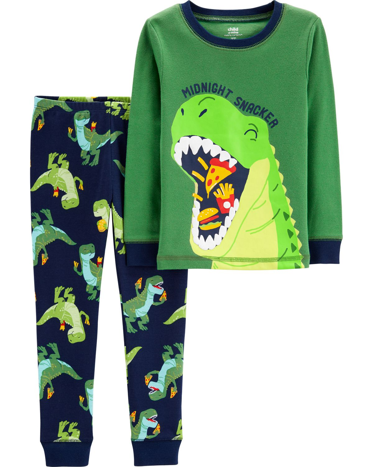 8890670daf Child of Mine made by Carter s Toddler Boys  2-piece Pyjama -dino pizza  zoomed image