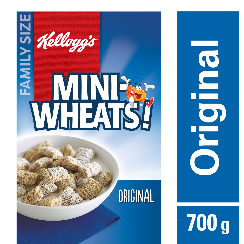 Kellogg's Mini-Wheats Cereal - Original - 700g