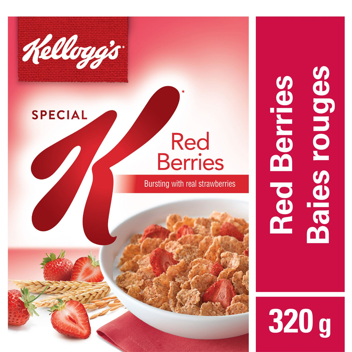 Kellogg's Special K Red Berries Cereal, 320g,