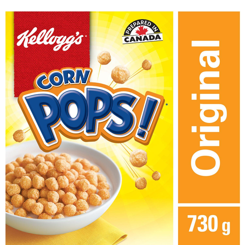 Kellogg's Corn Pops Cereal, Jumbo Size, 730g