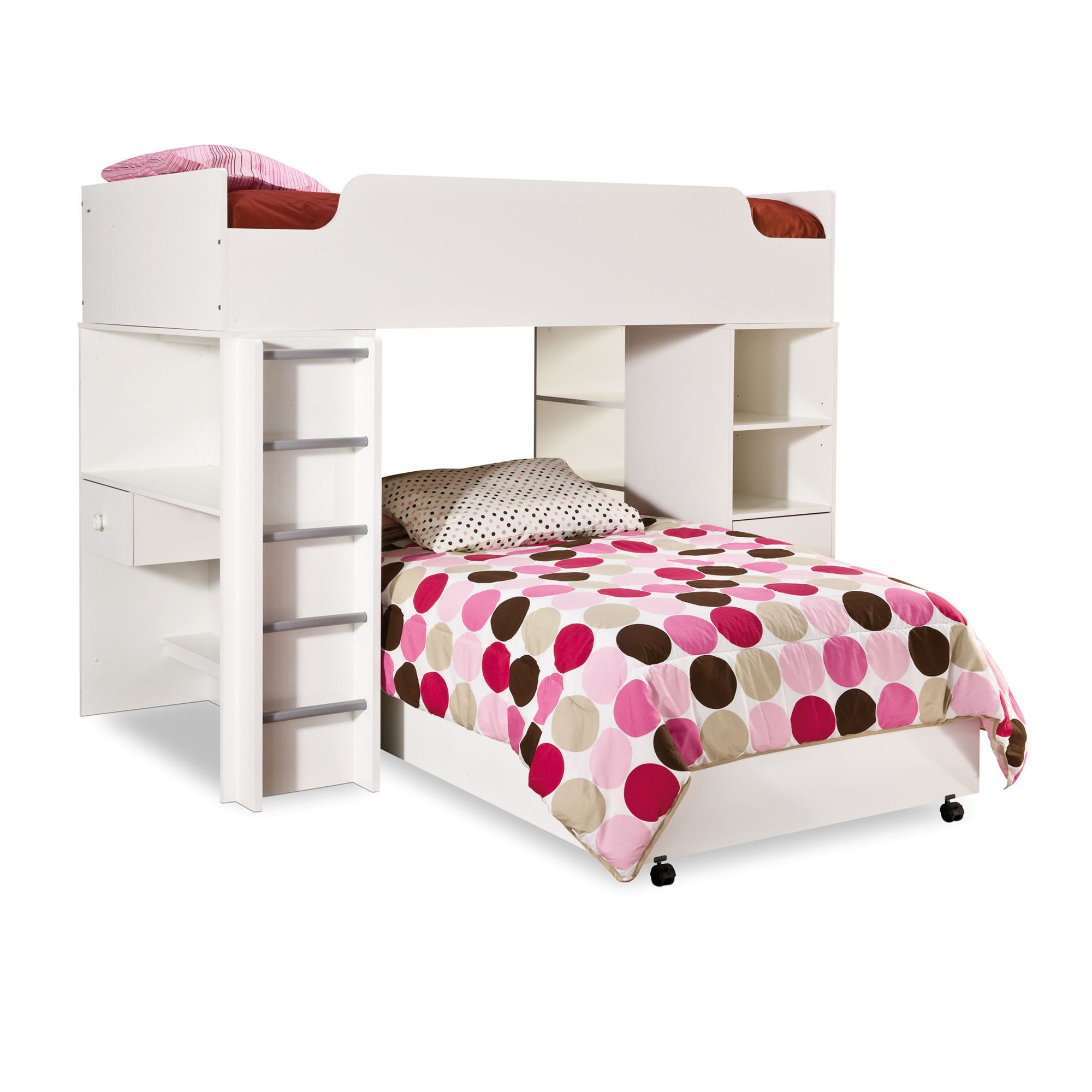 South Shore Bedroom Furniture South Shore Logik Twin Loft Bed 39 Walmartca