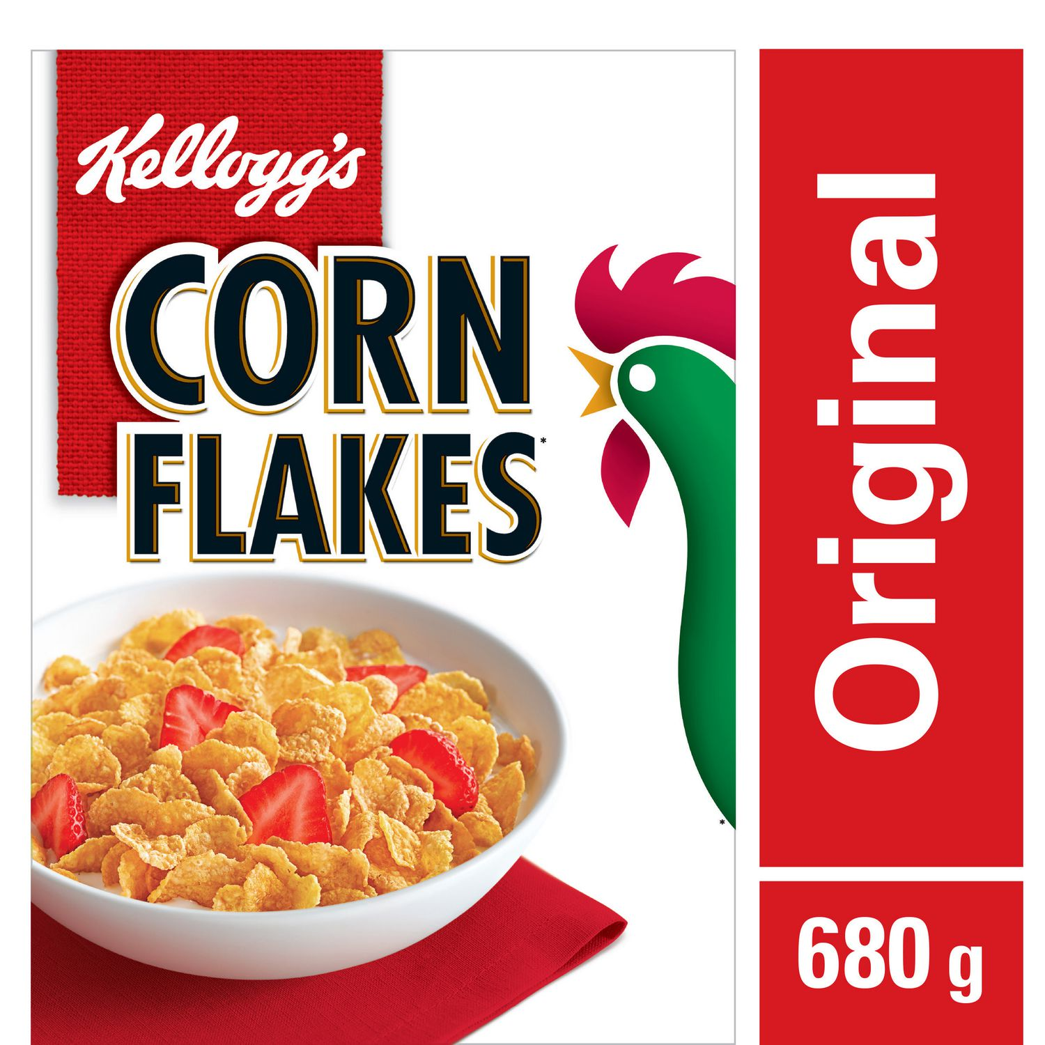 Corn Flakes Nutrition Label