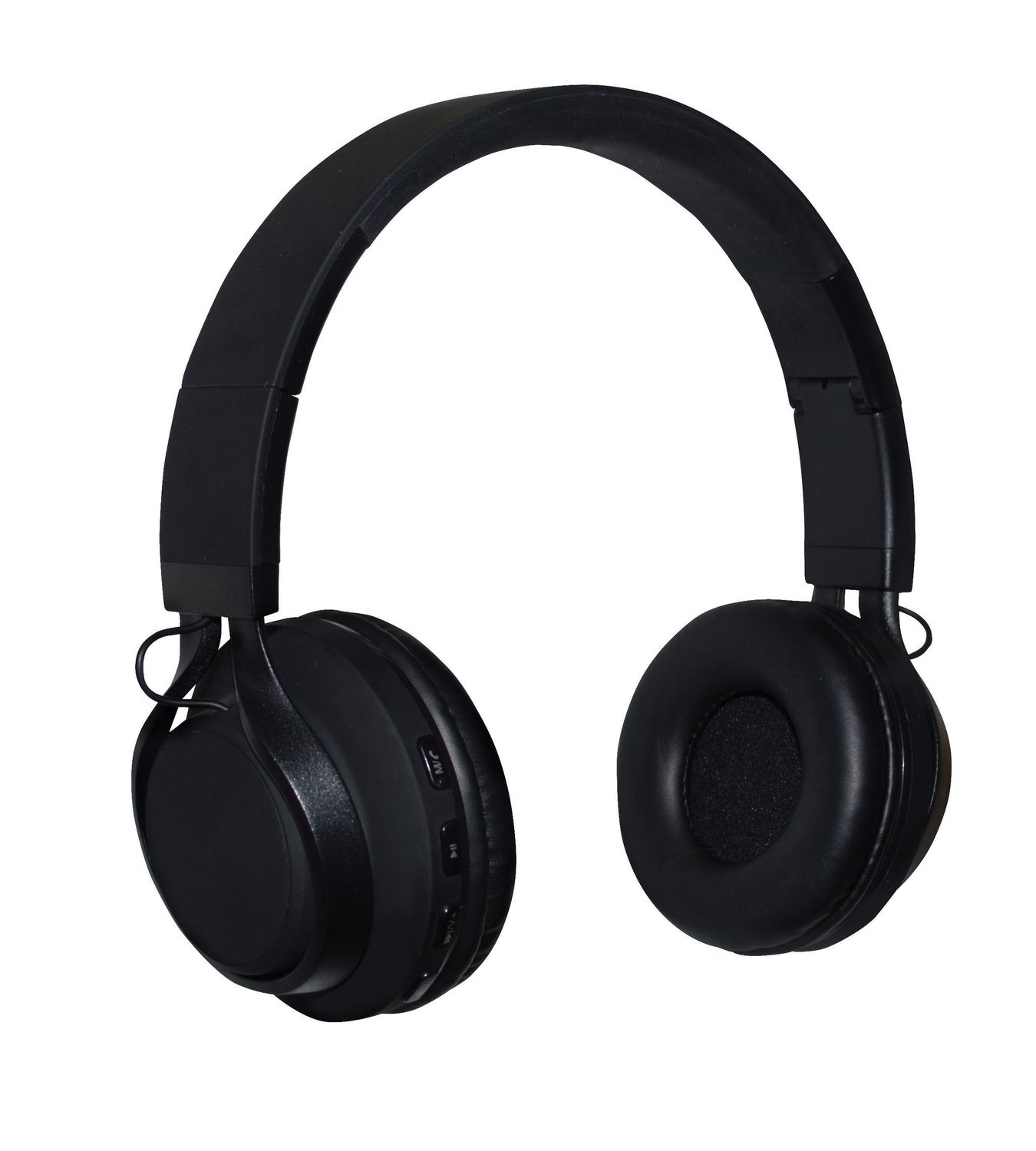 2e11dc0d7dd NUPOWER ROKS Wireless Headphones for Android and iPhone Black - image 1 of  2 zoomed image