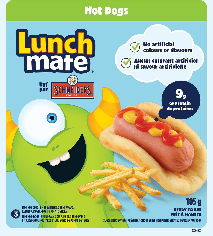 Schneiders Lunch Mate Hot Dogs Kit Walmart Canada