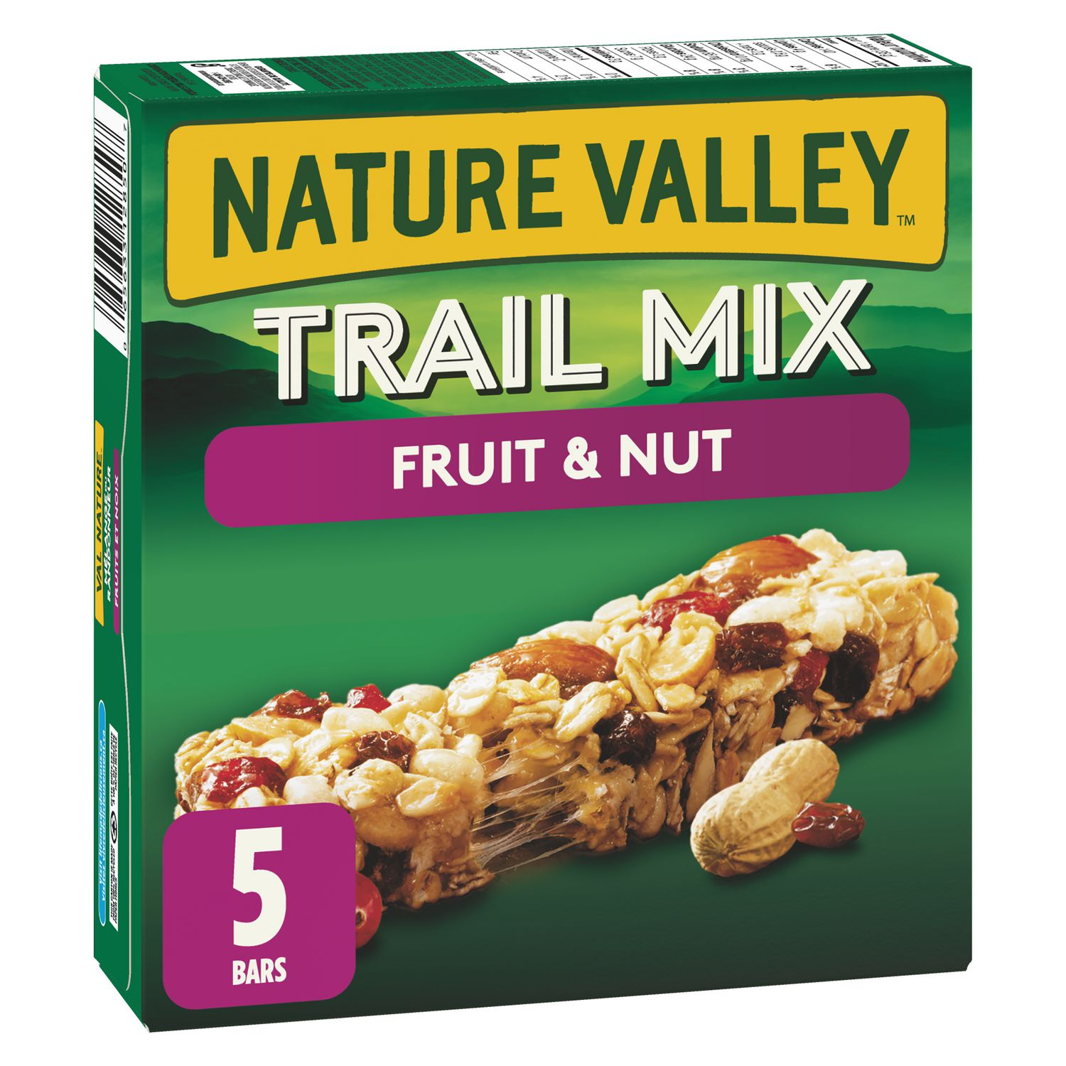 Nature Valley Trail Mix Fruit Nut Chewy Granola Bars Walmart Canada